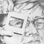 Pencil (self) portrait of the artist as a teacher