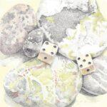 rocks and dice